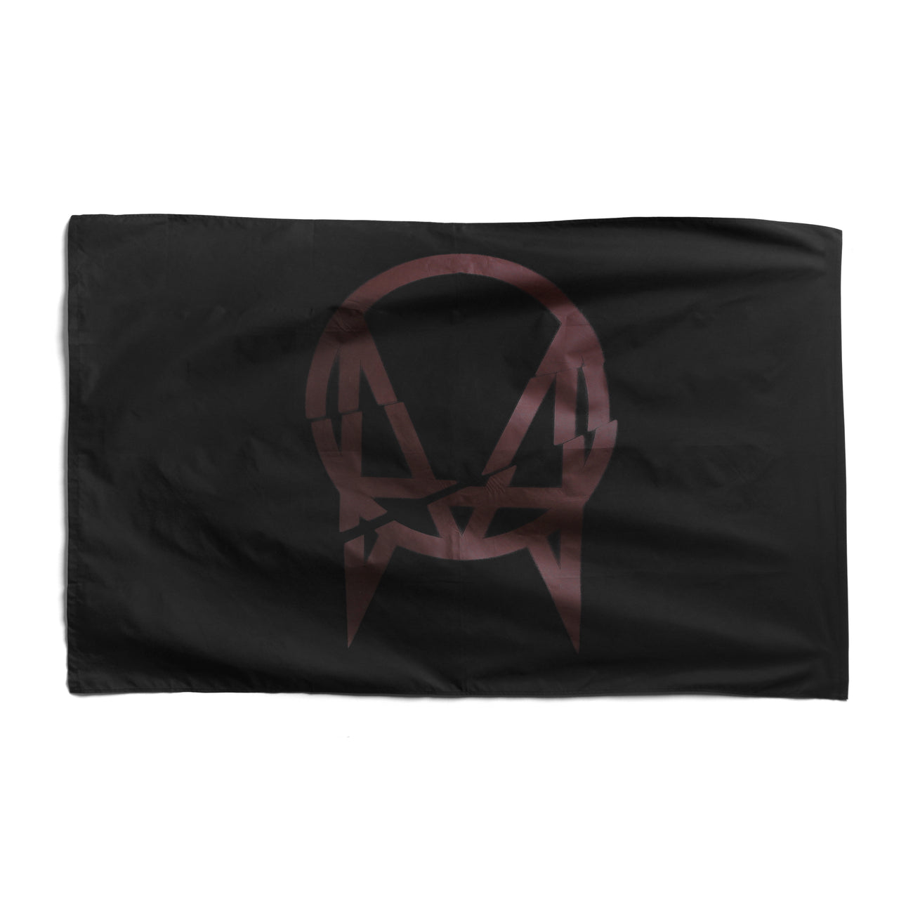 OWSLA CRACKED LOGO FLAG - BLACK