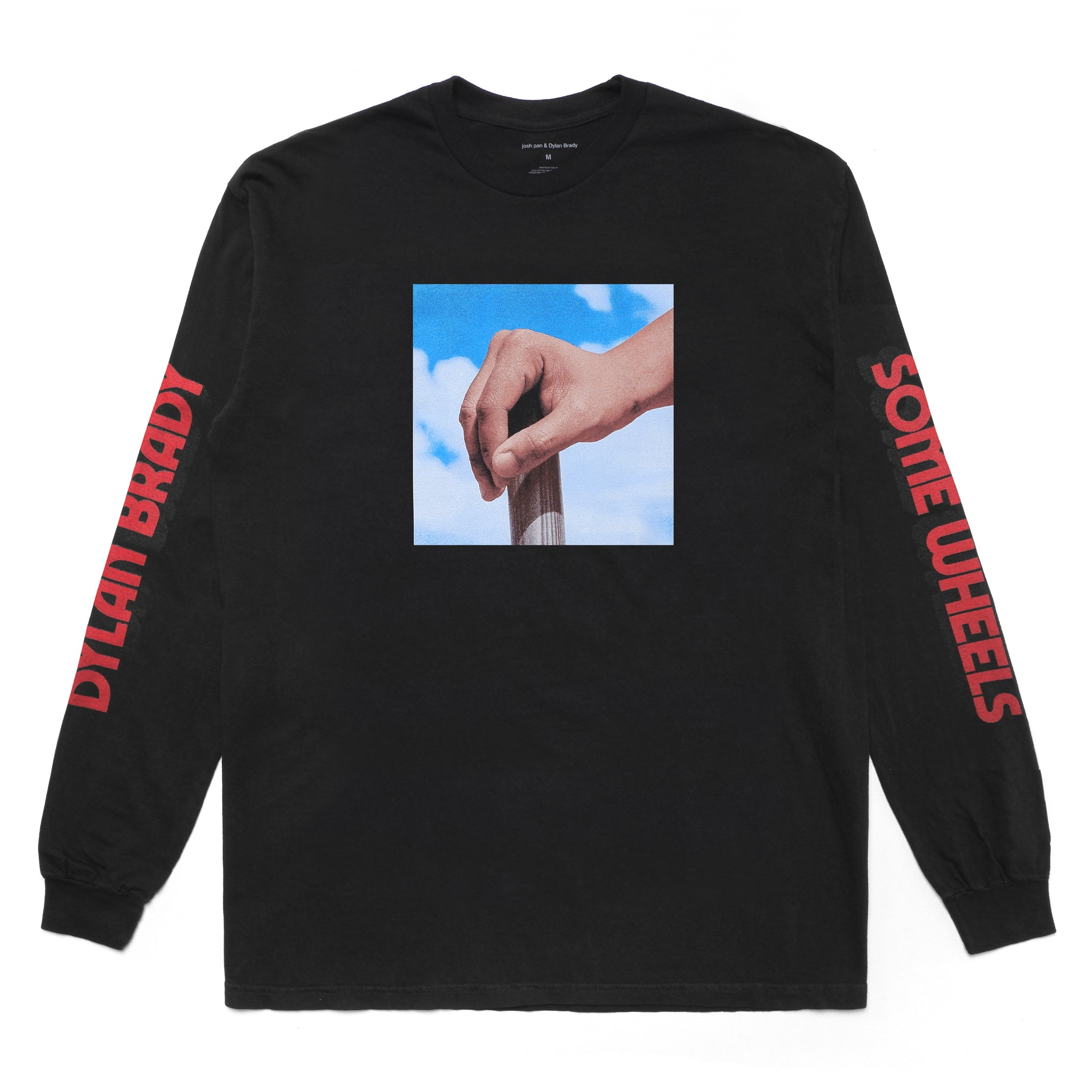 THIS CAR NEEDS SOME WHEELS LONG SLEEVE - BLACK