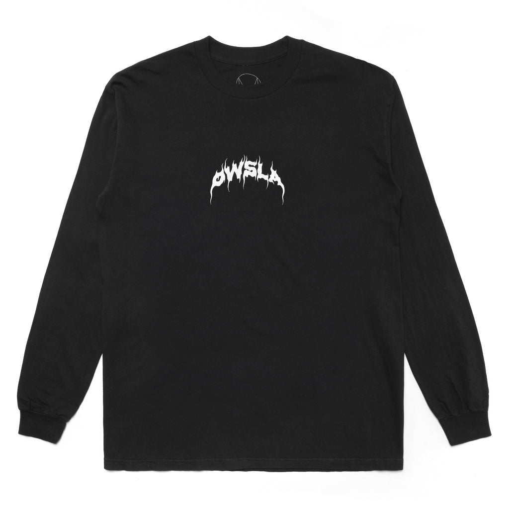 AUDIO DESTRUCT LONG SLEEVE - BLACK