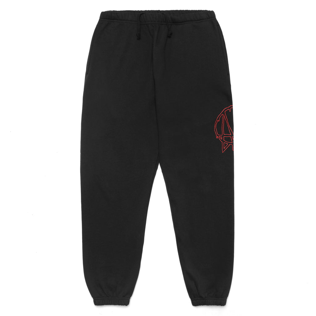 UNLEASHED SWEATPANTS - BLACK