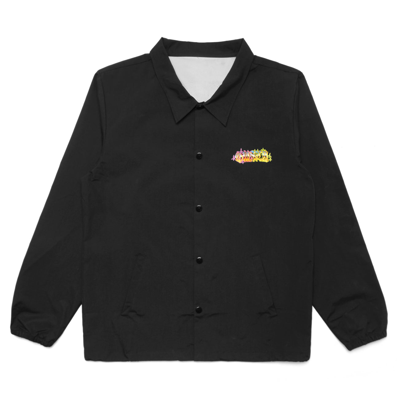 UNLEASHED COACHES JACKET - BLACK