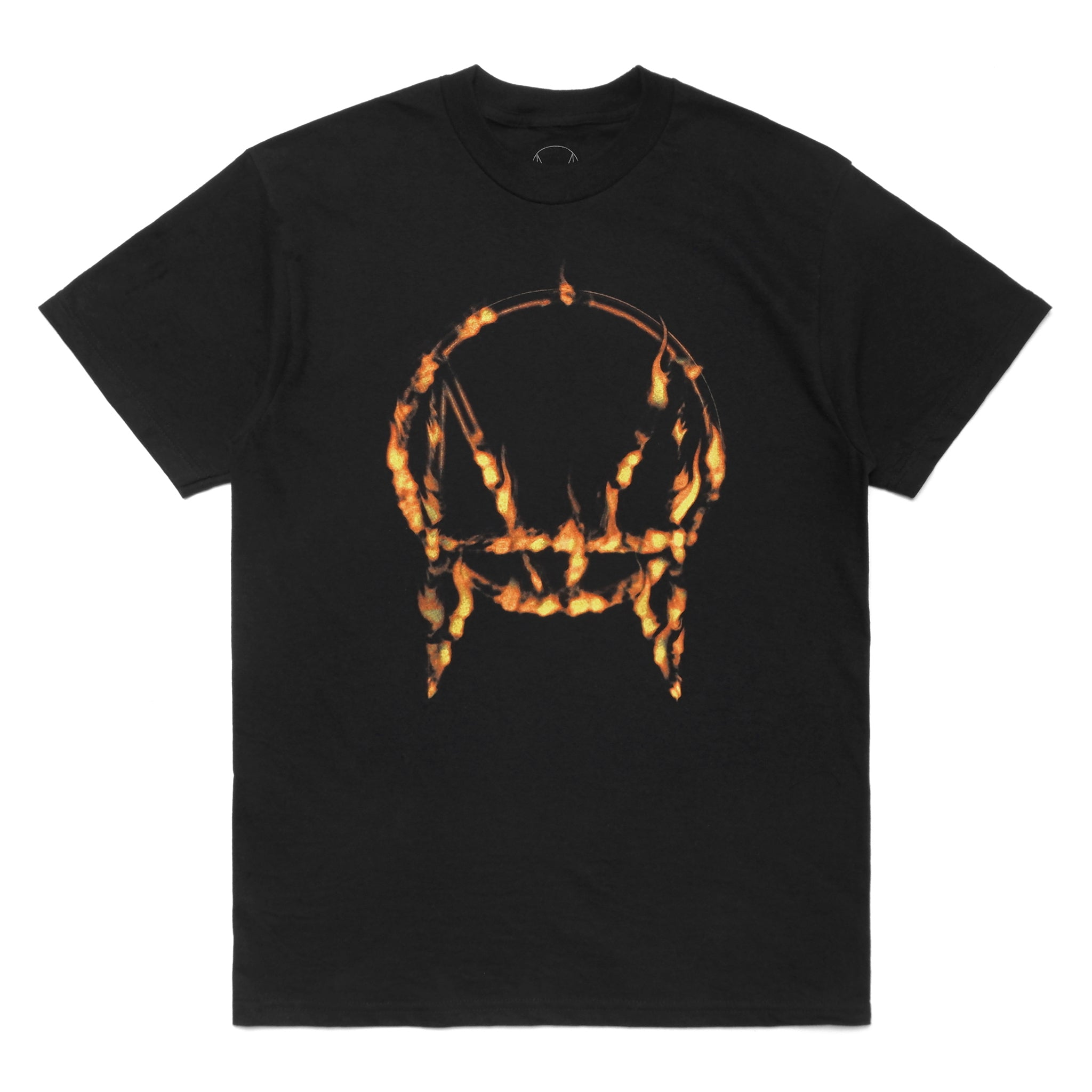HALLOWEEN LIMITED 'IN FLAMES' TEE - BLACK