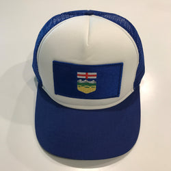 Alberta Flag Patch Trucker