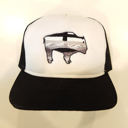 Bison Monochrome Trucker