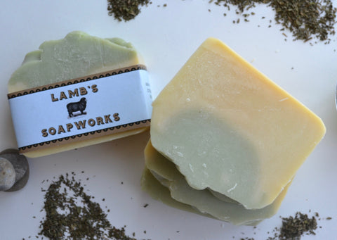 Lemongrass Mint Soap Bar