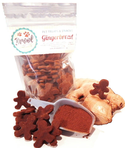 100g Gingerbread Bone Shaped Biscuits