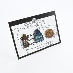 Great White North Pin Set