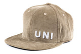 UNI Dirty Brown Corduroy Snapback