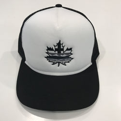Alberta Maple Leaf Monochrome Trucker