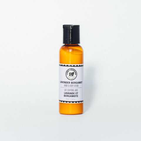 Lavender Bergamot Hand & Body Travel Lotion