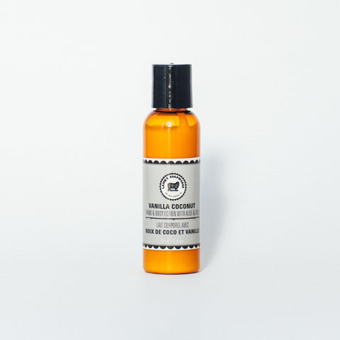 Vanilla Coconut Hand & Body Travel Lotion