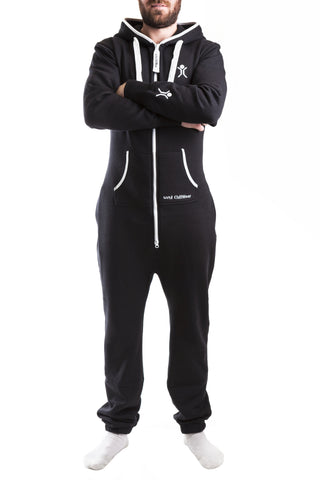 UNI Pitch Black Onesie - unisex