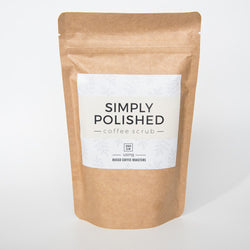 Simply Polished Coffee Scrub 250g