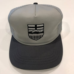 Alberta Shield Monochrome Slate Trucker