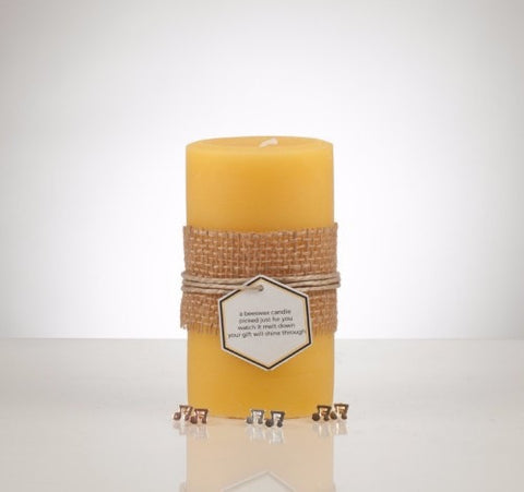 Music Note Earring Beeswax Treasure Candle