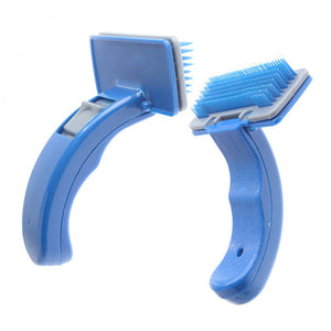 Pet Brush Comb Puppy Dog Cats Self Cleaning r Dog Animals Pet Cleaning Supplies