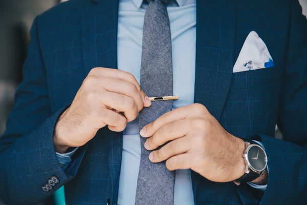 Raise The Bar With A Stylish Tie Bar | Accessorize