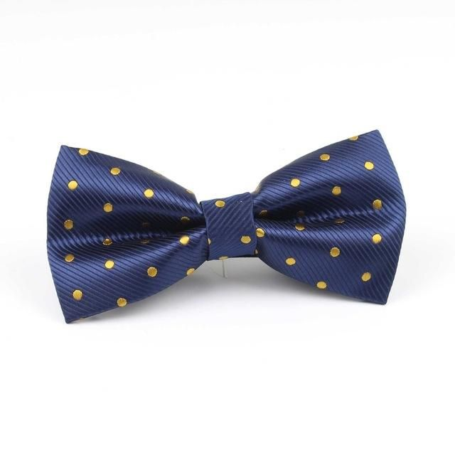 Celebration Bowtie - Yellow/Blue