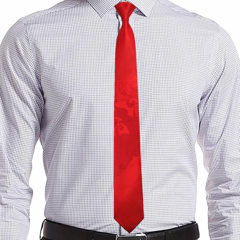 Singularity Tie - Living Red