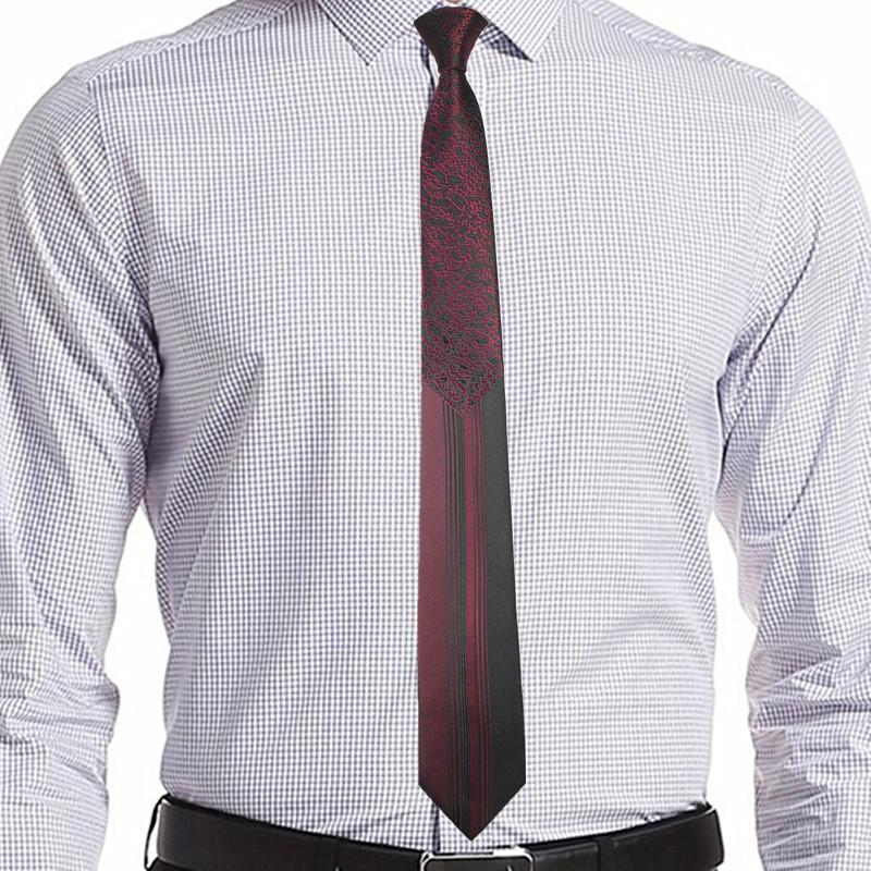 Singularity Tie - Dark Red