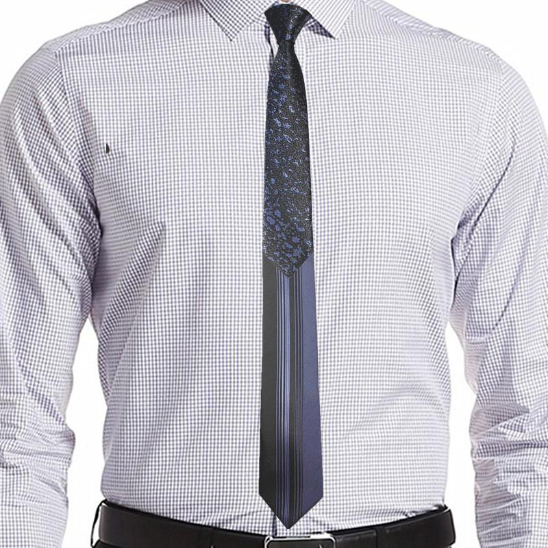Singularity Tie - Metallic Blue