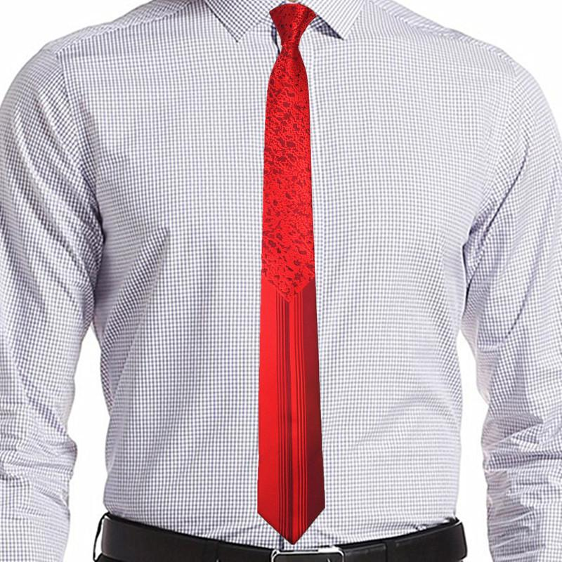 Singularity Tie - Lava Red