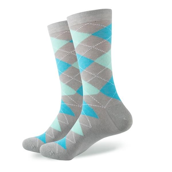Business Socks - Aqua
