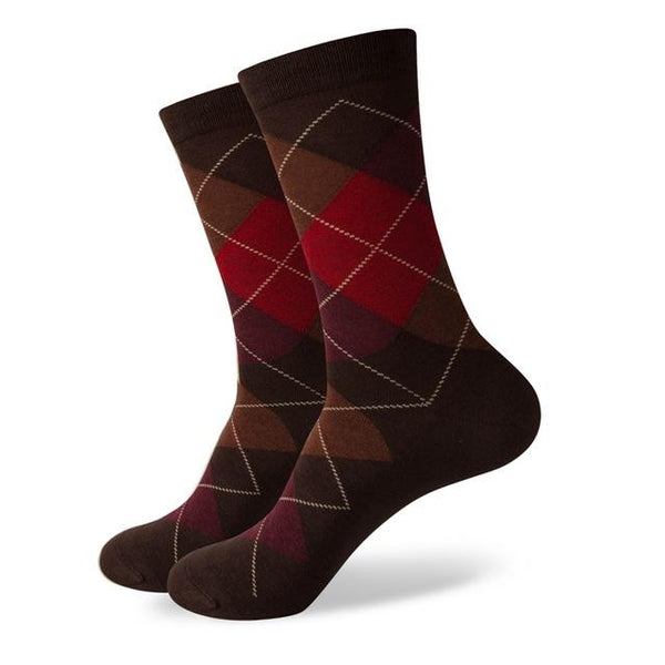 Business Socks - Brown