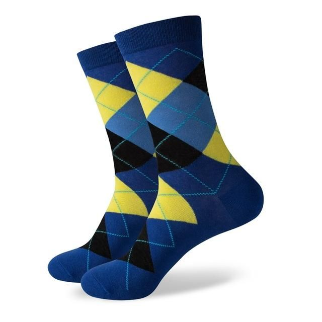 Business Socks - Marine Blue