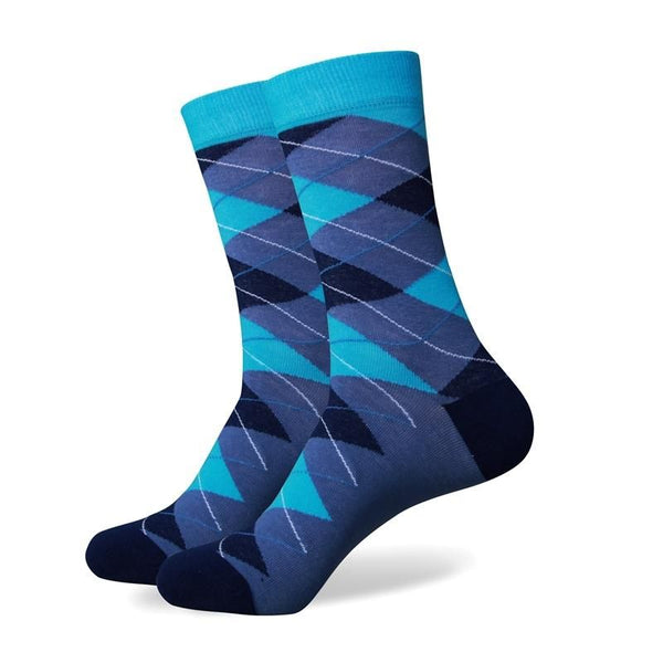 Business Socks - Sky & Sea