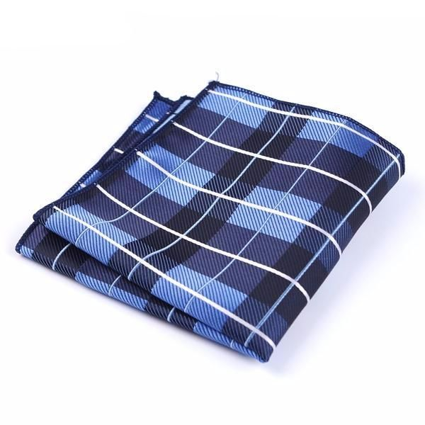 Formal Pocket Squares - Royalty Blue