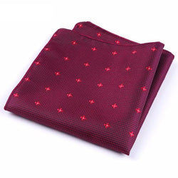 Formal Pocket Squares - Red Diamond