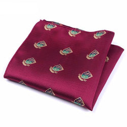 Formal Pocket Squares - Scholar Red
