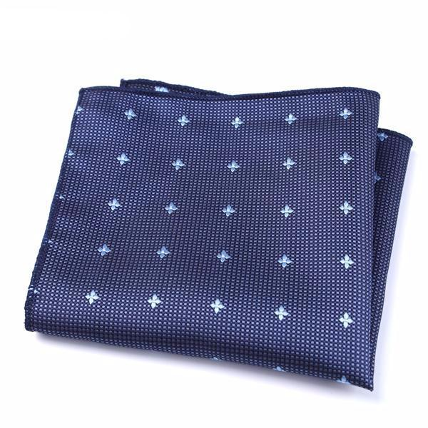 Formal Pocket Squares - Blue Diamond