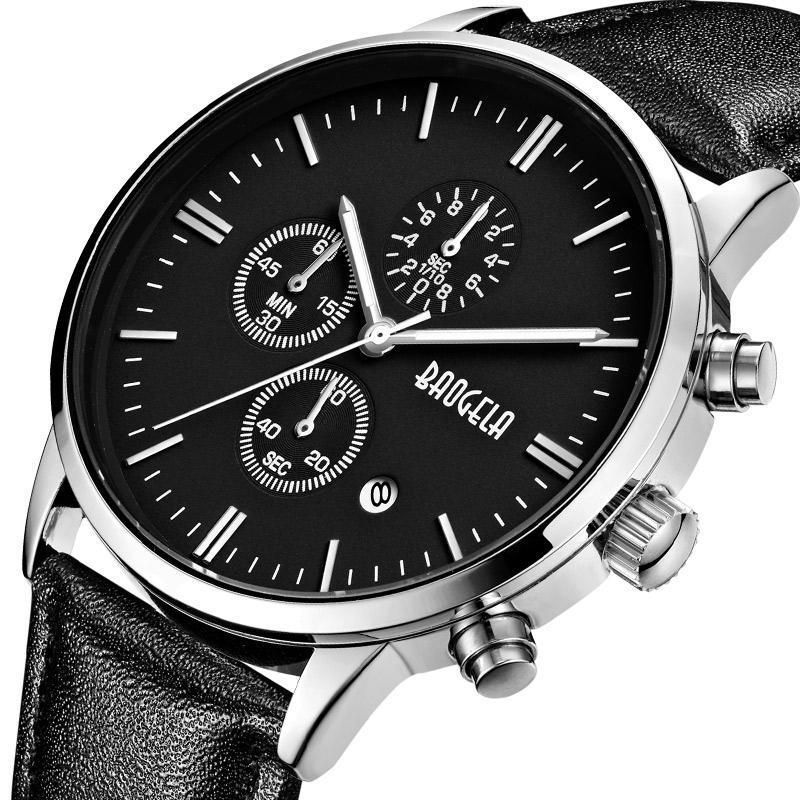 Slava Watch - Silver/Black
