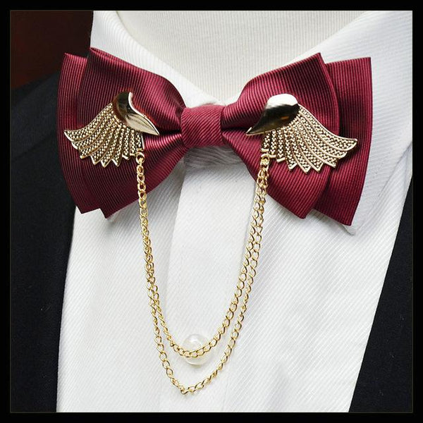 Icarus Bowtie - Red Wine