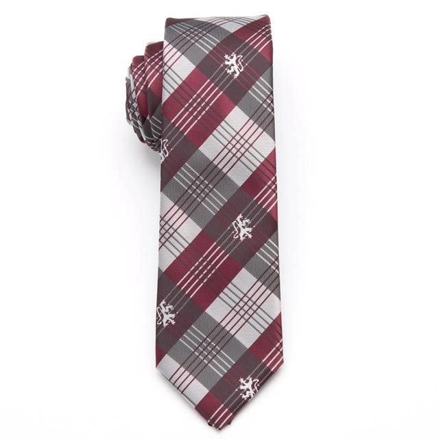 Skinny Business Tie - Red Royalty