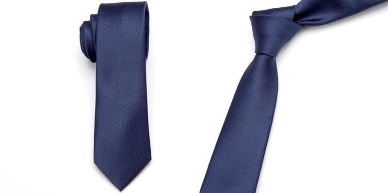 Skinny Business Tie - Royal Blue