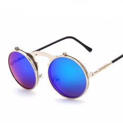 Silver & Purple Chameleon Sunglasses
