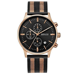 Slava Watch - Black/Rose Gold