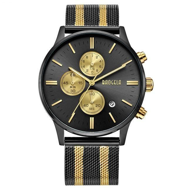 Slava Watch - Black/Gold