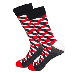Extravaganza Socks - City Red