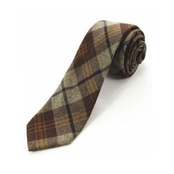 Cashmere Tie - Royal Brown