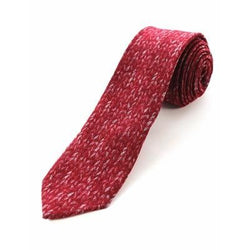 Cashmere Tie - Living Red