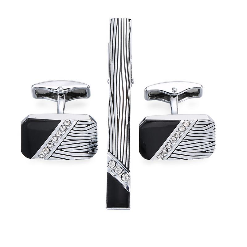 Tie Clip & Cuff Links - The Gentleman