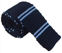 Knit Neckties-Blue River