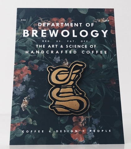 Black Coffee Pin Series - Serpent & Chemex