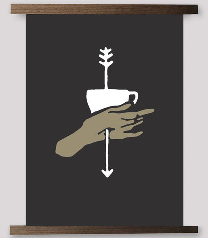 Black Coffee Series - Vessel & Hand