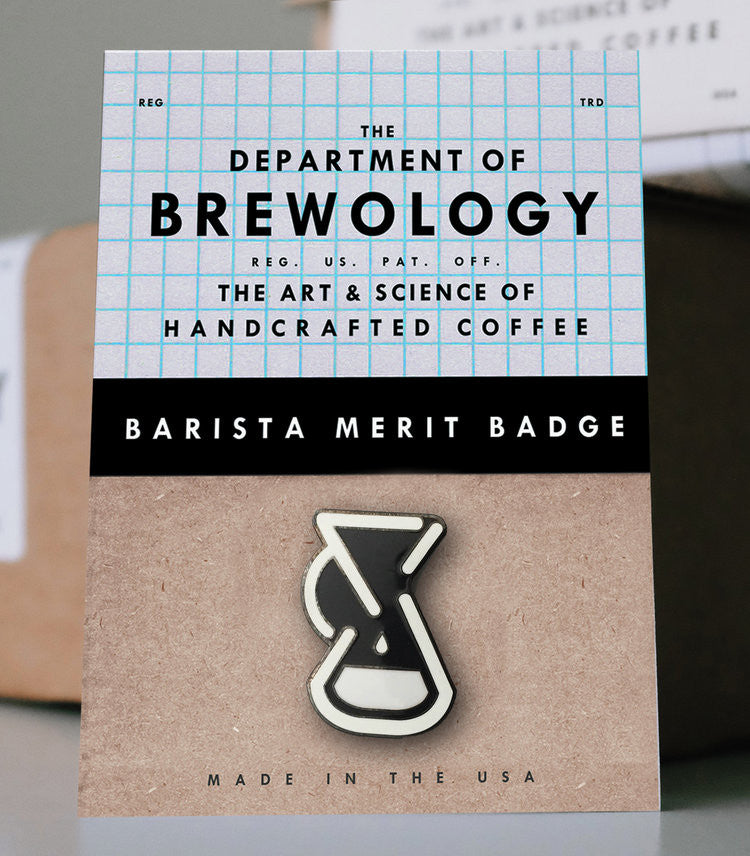 (EUROPE) Barista Merit Badge - Chemex