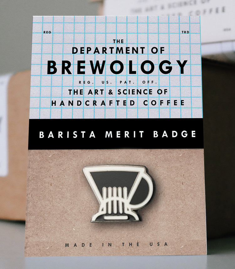 (EUROPE) Barista Merit Badge - Clever
